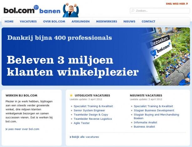 Bol.com banen